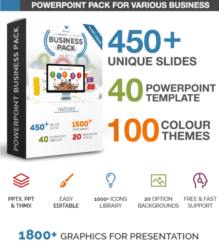 Business Pack PowerPoint Template