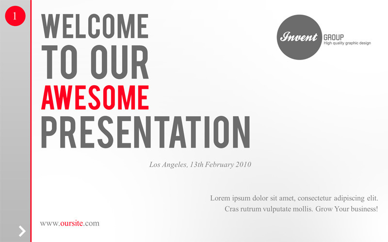 Clear Idea PowerPoint Template