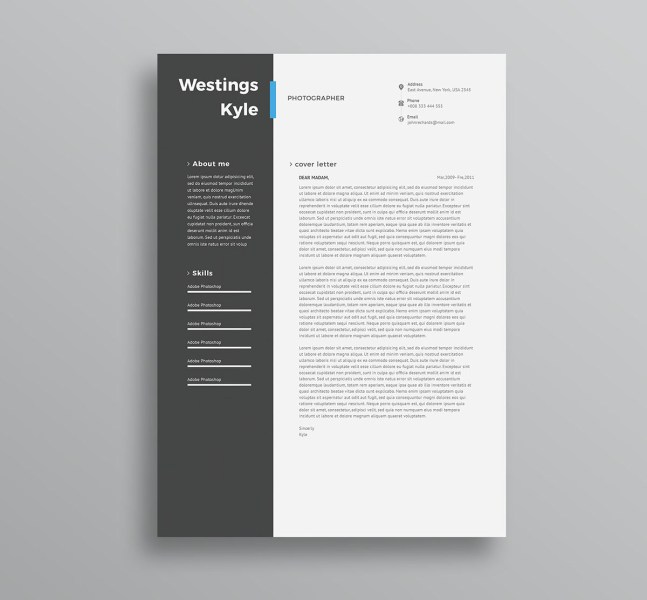 75 Best Free Resume Templates of 2018 Free Professional Resume Template PSD