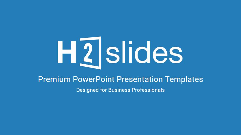 H2 Premium Source PowerPoint Template