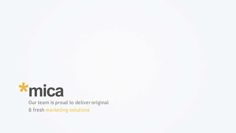 Mica PowerPoint Template