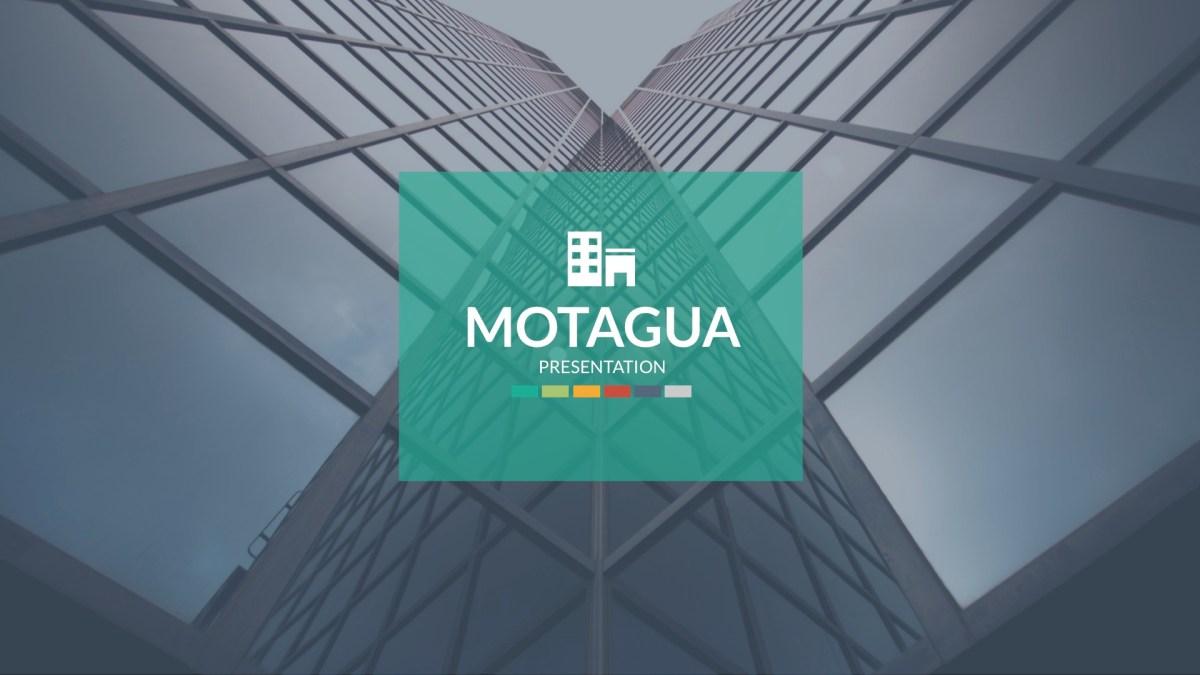 Motagua PowerPoint Template