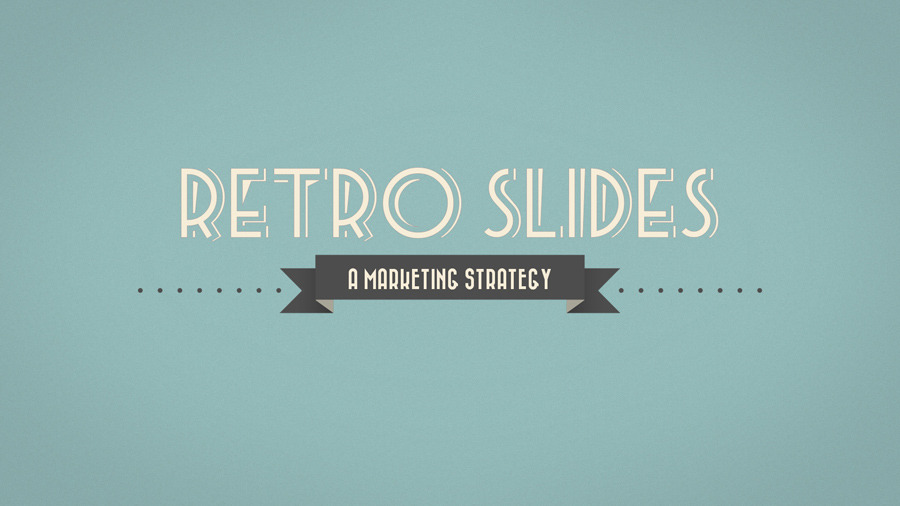 Retro Slides PowerPoint Template