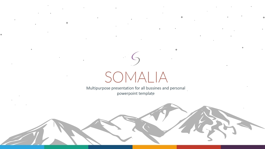 Somalia PowerPoint Template