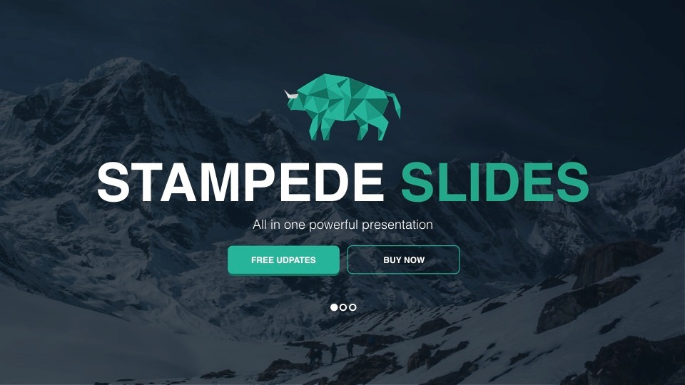 Stampede PowerPoint Template