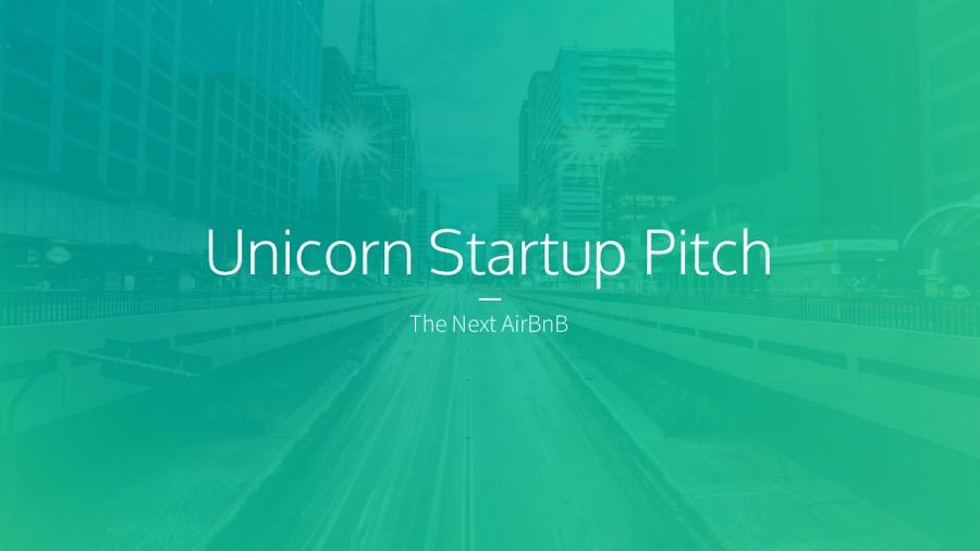 Unicorn Startup Pitch Deck