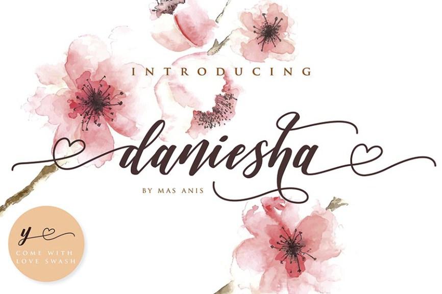 01 - Daniesha Romantic Script Demo