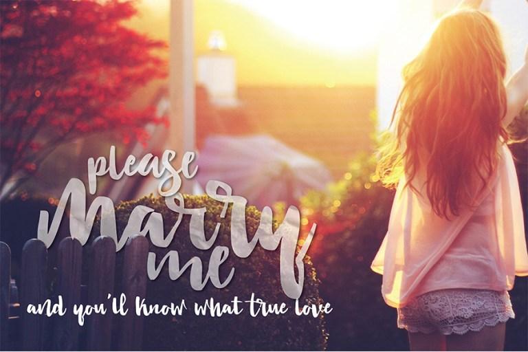 02 - Lovetime Script Font