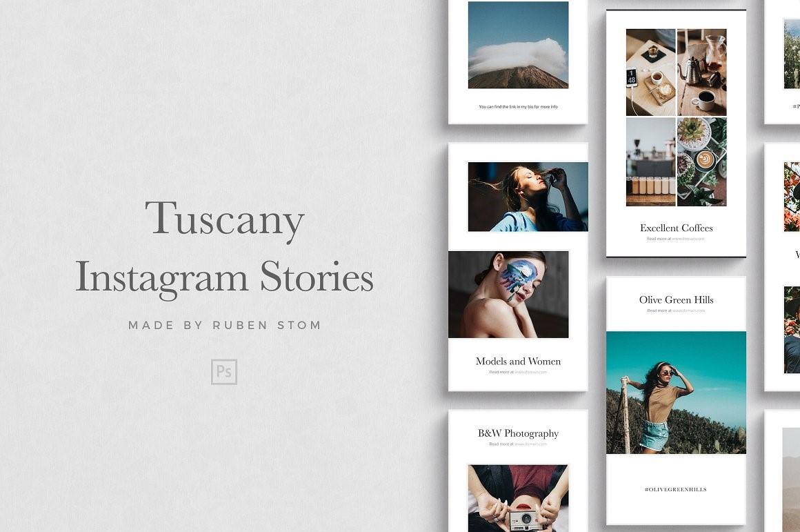 16. Tuscany Instagram Stories