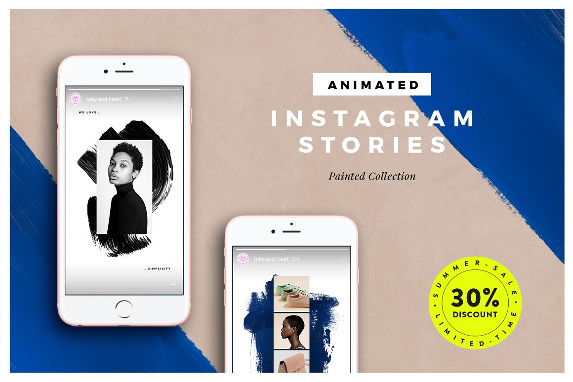 19. ANIMATED Painted Instagram Stories