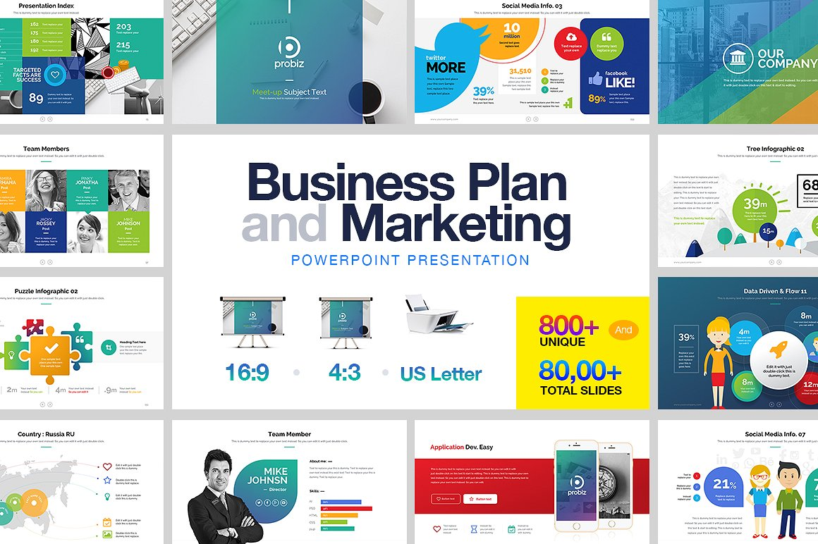 22 - Business Plan & Marketing PowerPoint