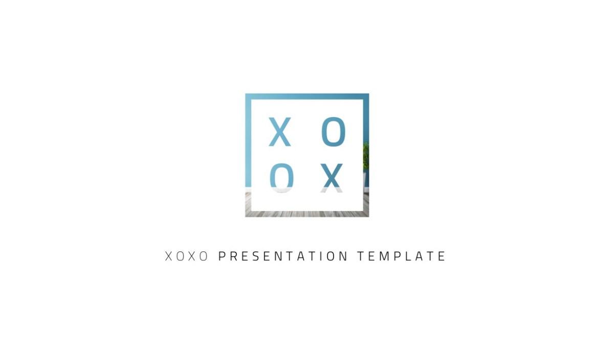 26 - XOXO Minimal Keynote Template