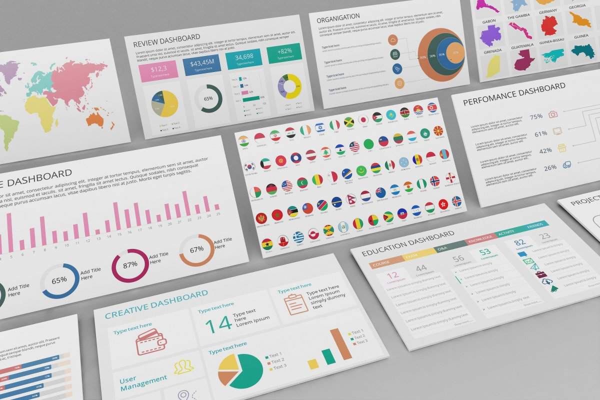 29 - Mega PowerPoint Dashboard Creator
