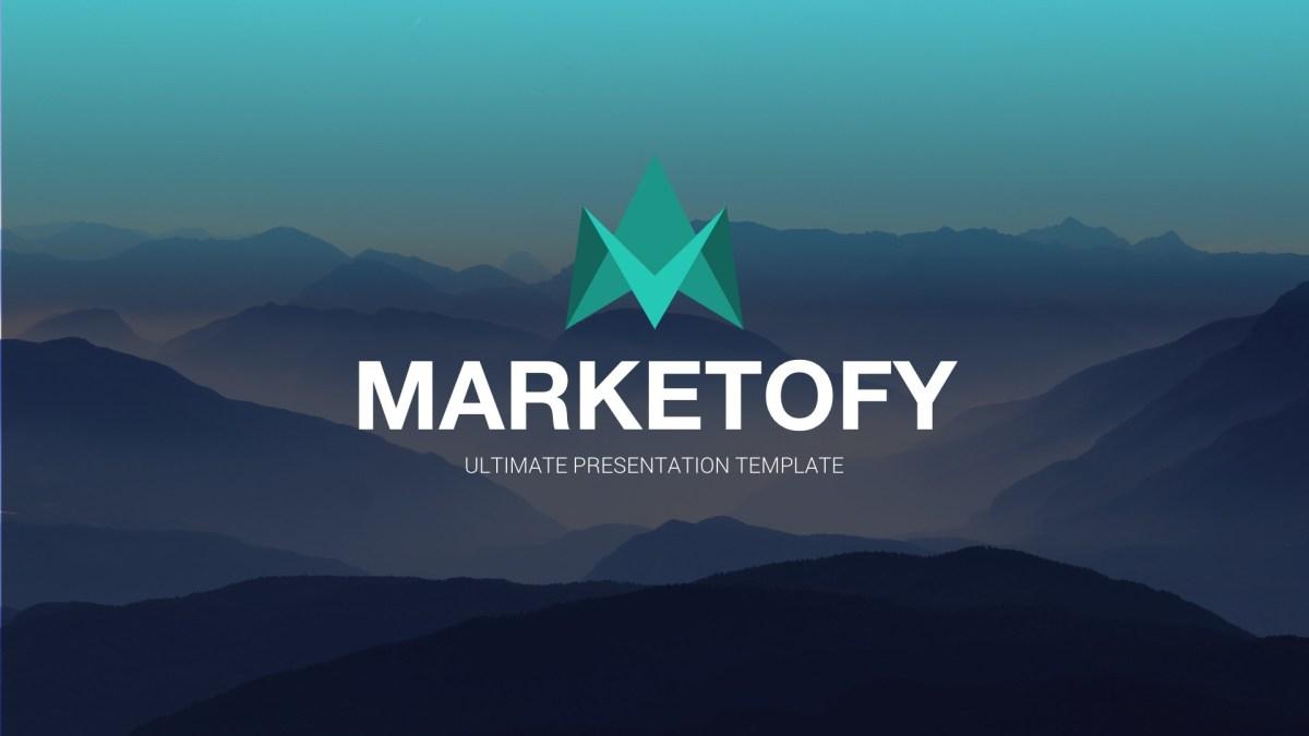 31 - Marketofy - Ultimate Google Slides Template