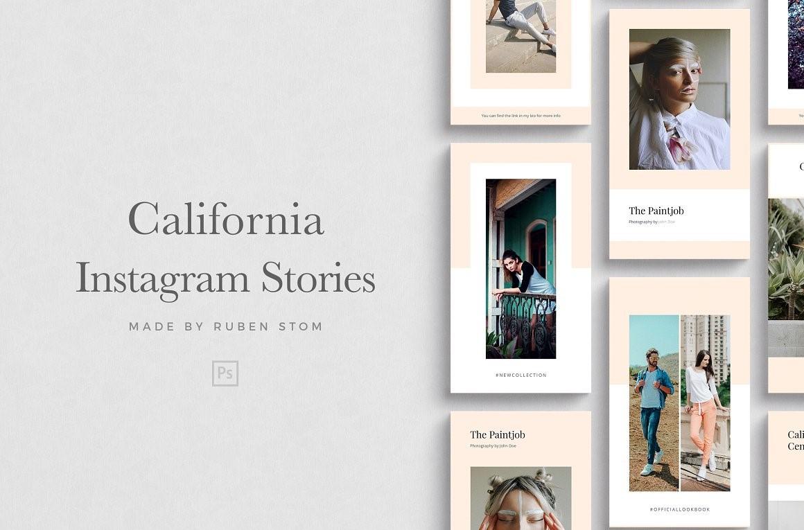 31. California Instagram Stories