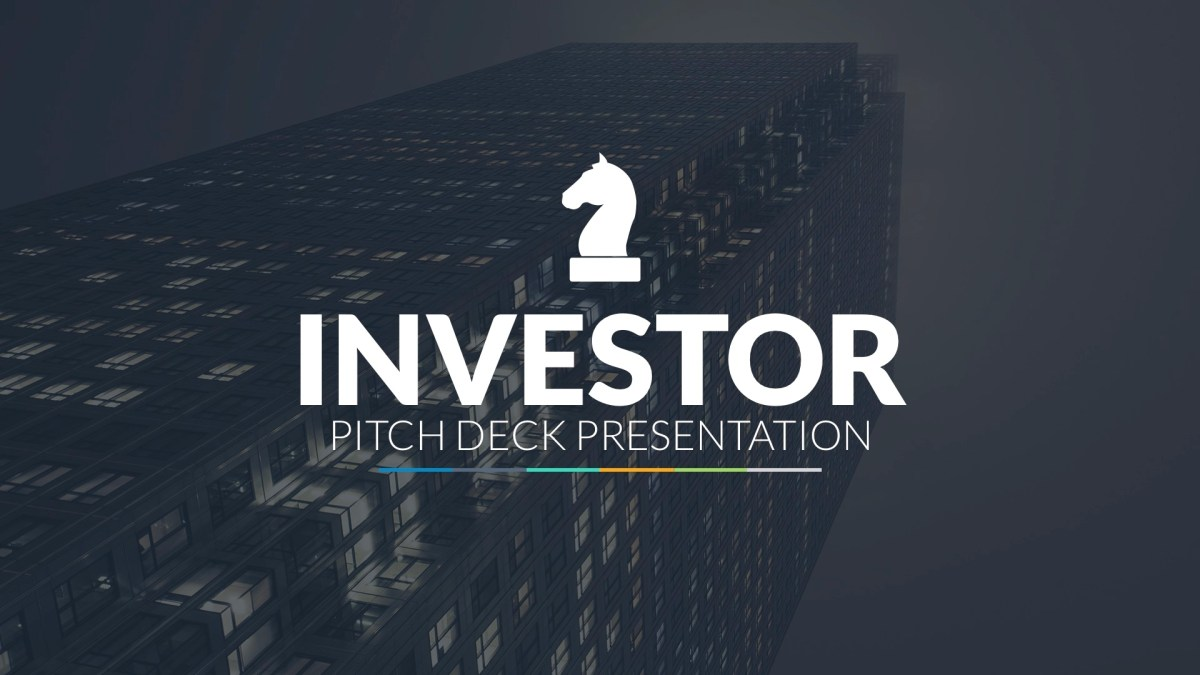 35 - Investor Pitch Deck Google Slides Template