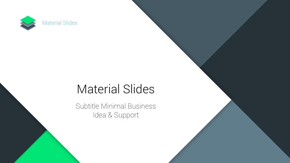 44 - Material Google Slides Presentation Template