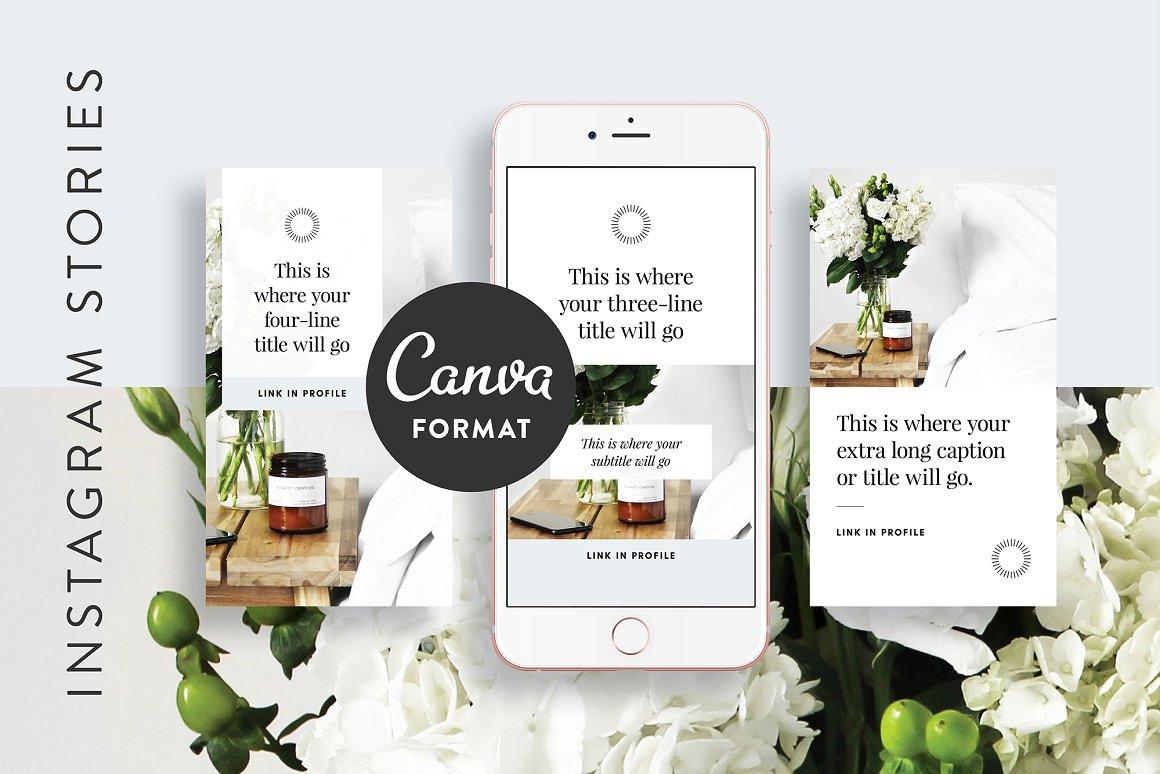 54. Instagram Stories Templates CANVA