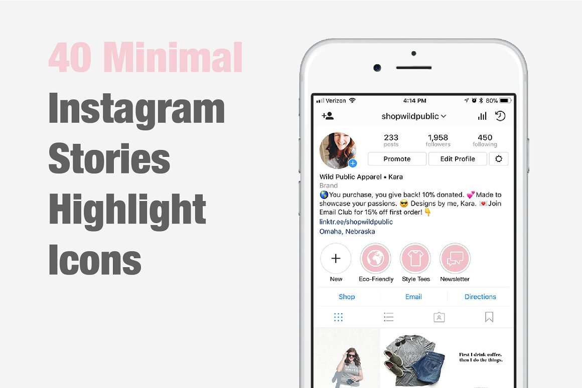 57. Instagram Stories Highlight Icons