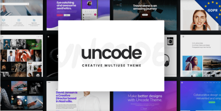 10 - Uncode Creative Multiuse WordPress Theme