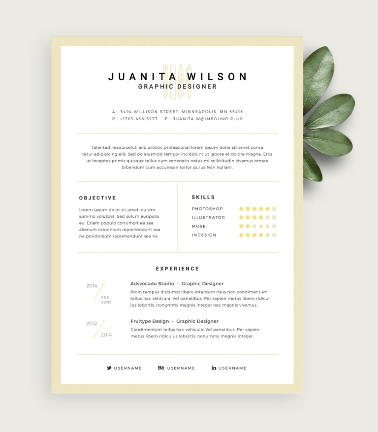 10. Clean Resume Template