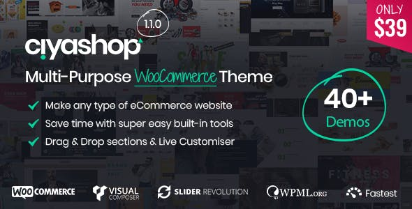 11 - CiyaShop - Responsive Multi-Purpose WooCommerce WordPress Theme