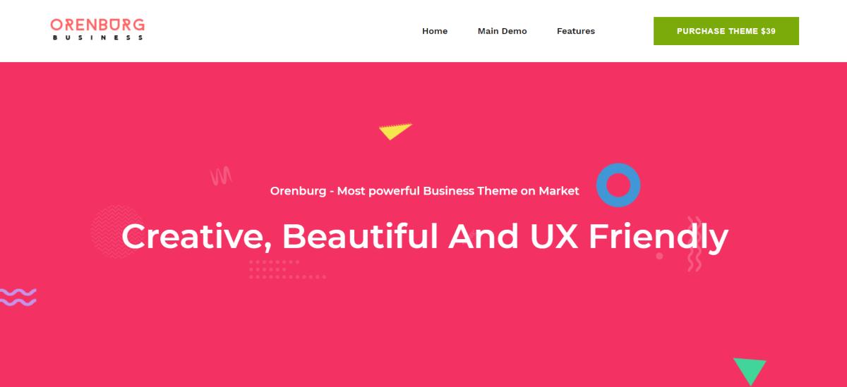 12. Orenburg - Business Consulting WordPress Theme