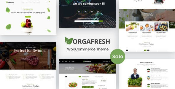 13 - Orgafresh - Organic & Food WooCommerce WordPress Theme