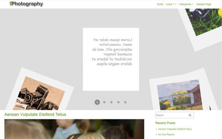 13 - fPhotoGraphy Responsive WordPress Theme
