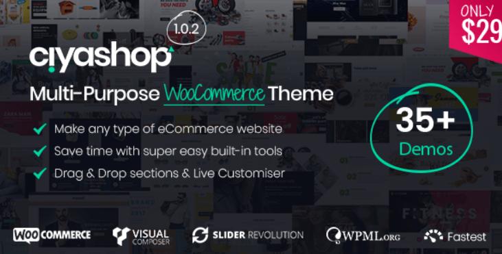 15 - CiyaShop Responsive Multi Purpose WooCommerce WordPress Theme
