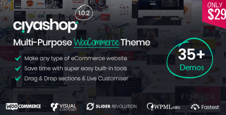 15 - CiyaShop Responsive Multi Purpose WooCommerce WordPress Theme