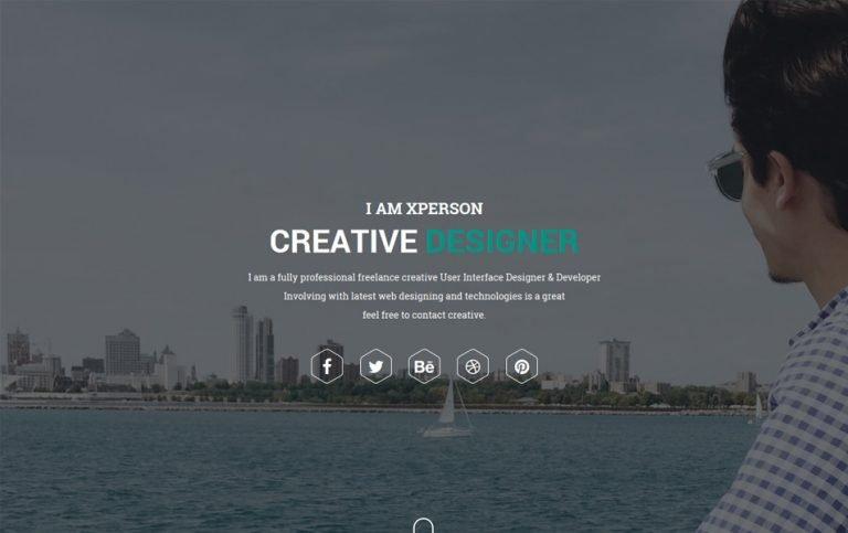 16 - xPerson Lite Responsive WordPress Theme