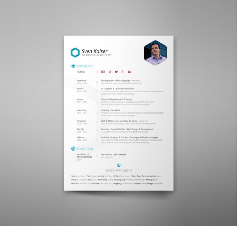 17. Free Resume Template