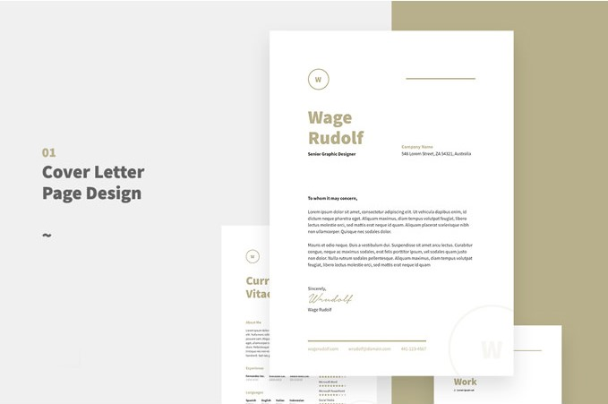 2 - Clean Resume Template