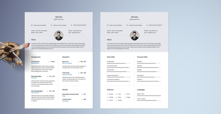 Whether you are a beginner, high school, or college student applying for. Free Classy Resume Template