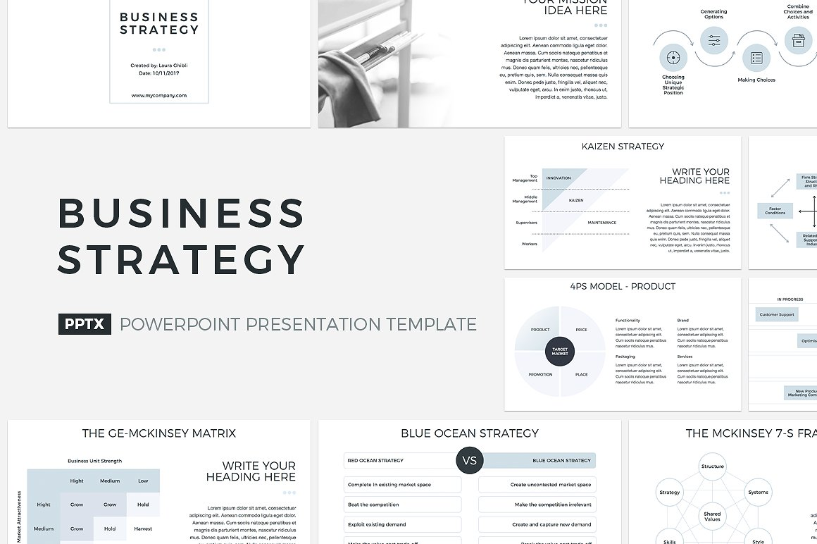 20. Business Strategy PowerPoint
