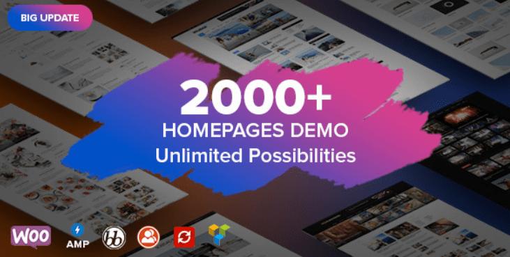 23 - Soledad Multi Concept Blog Magazine News AMP WordPress Theme