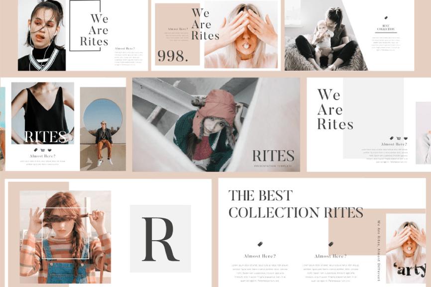 26 - Rites Free Presentation Template