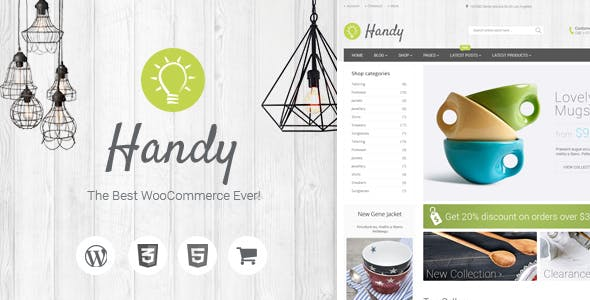 3 - Handy - Handmade Shop WordPress WooCommerce Theme