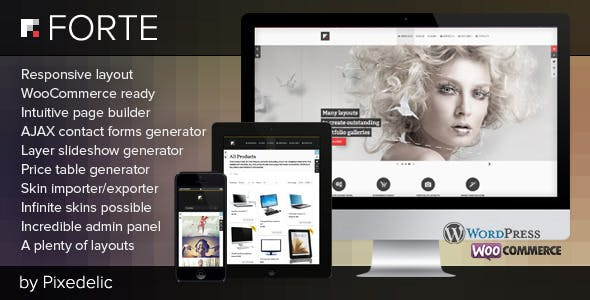 32 - Forte - Multipurpose WP Theme (WooCommerce Ready)