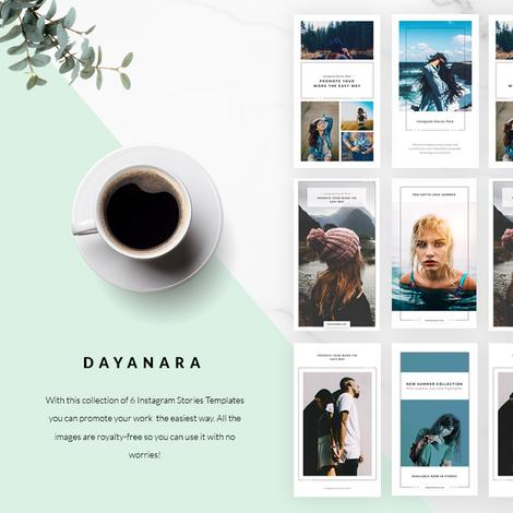 32. Free Dayanara Instagram Stories Templates
