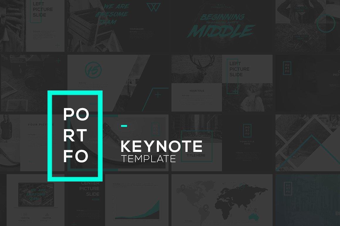 34. PORTFO Keynote Template
