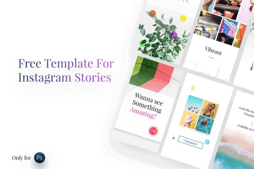 44. Instagram Stories Free Template