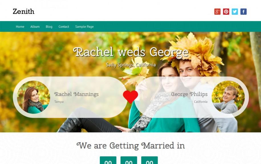47 - Zenith Free Portfolio WordPress Theme