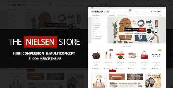 49 - Nielsen - E-commerce WordPress Theme