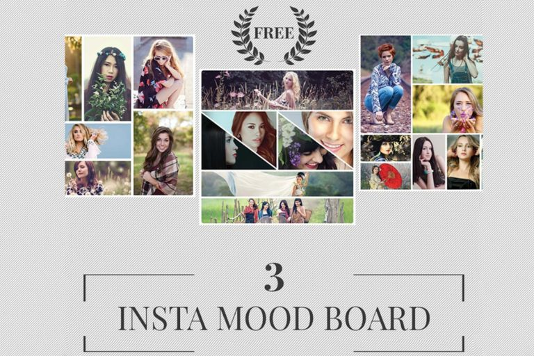 5. Free Instagram Mood Board Templates