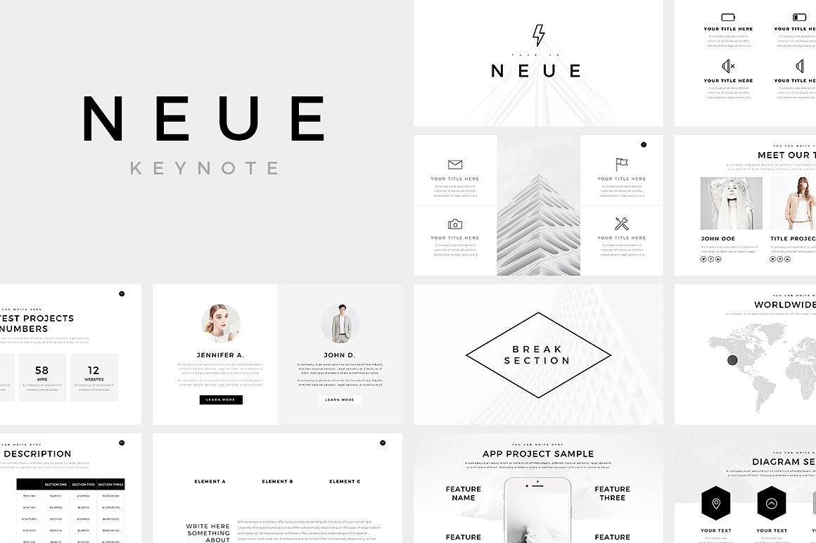 Keynote Templates | 20 Best Free Company Profile Keynote Templates