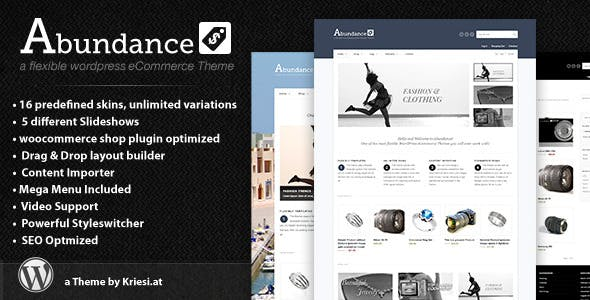 7 - Abundance eCommerce Business Theme