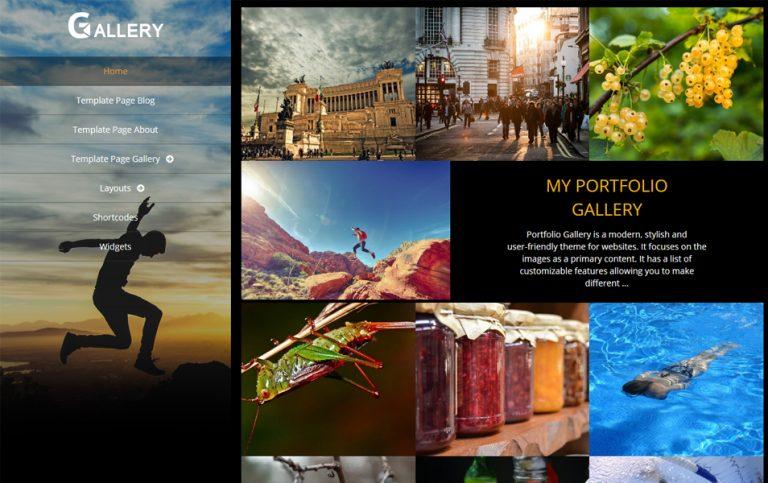 71 - Portfolio Gallery Responsive WordPress Theme