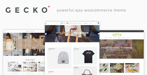9 - Gecko - Powerful Ajax WooCommerce Theme